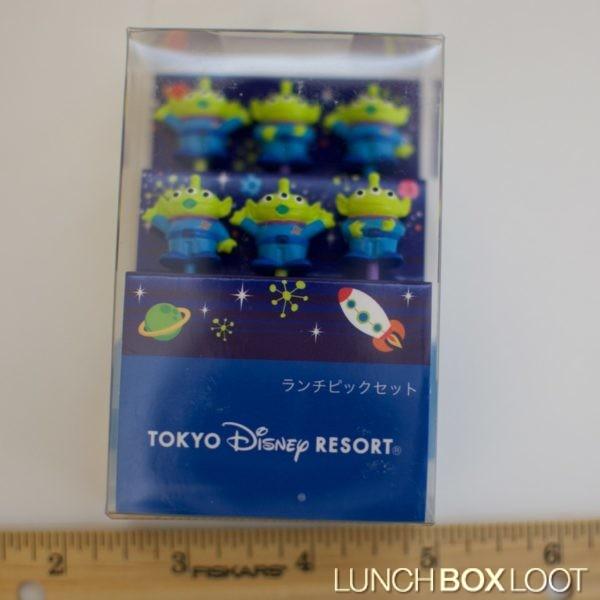 Tokyo Disney Resort Toy Story Alien Bento Picks