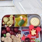 Mickey Lunch using Tokyo Disney Resort Classic Mickey Bento Picks from lunchboxloot.com
