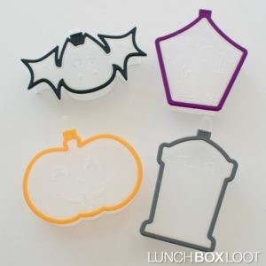 Cut and Stamp Halloween Cookie Cutters by Sweet Creations from lunchboxloot.com