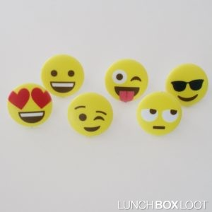 Emoji Bento/Cupcake Ring from lunchboxloot.com