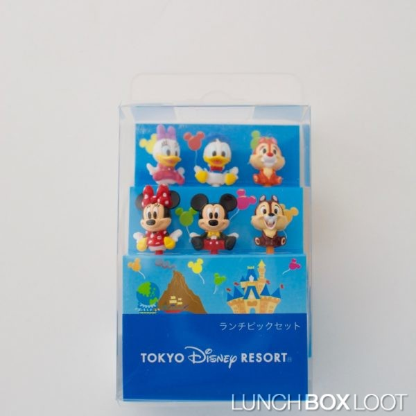 Tokyo Disney Resort Classic Mickey Bento Picks from lunchboxloot.com