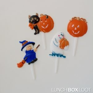 Halloween Cupcake/Bento Picks from lunchboxloot.com