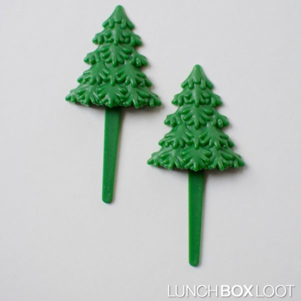 Christmas Tree Cupcake/Bento Pick from lunchboxloot.com