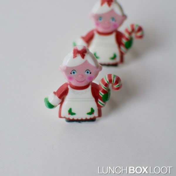 Mrs. Claus Cupcake/Bento Ring from lunchboxloot.com