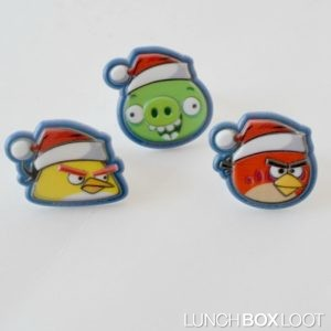 Angry Birds Cupcake Rings from lunchboxloot.com