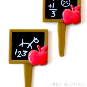 Chalkboard Number Picks
