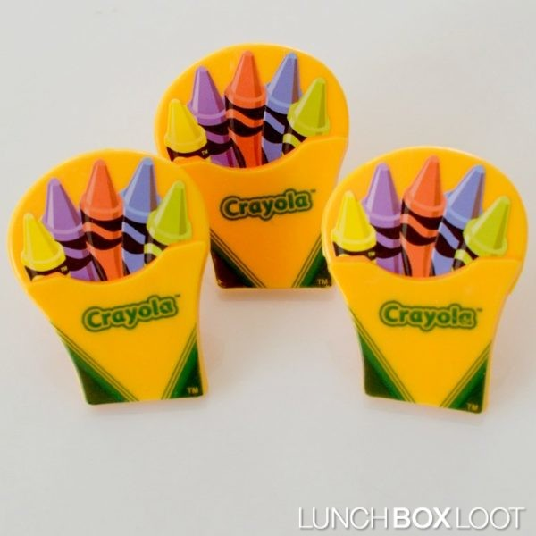 Crayola Box of Crayons cupcake rings from lunchboxloot.com