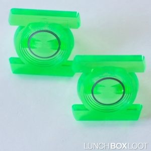 Green Lantern Cupcake Ring from lunchboxloot.com
