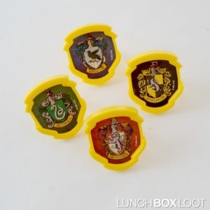 Harry Potter House Cupcake Rings from lunchboxloot.com