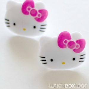 Hello Kitty Cupcake Rings from lunchboxloot.com