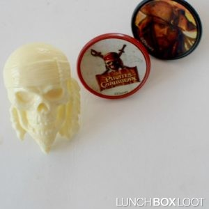 Pirates of the Caribbean Cupcake Rings from lunchboxloot.com