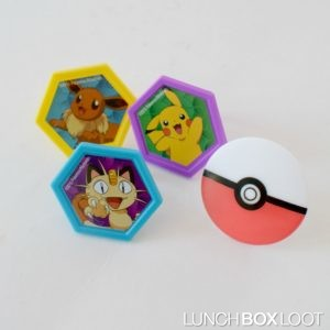 Pokemon Cupcake Rings from lunchboxloot.com