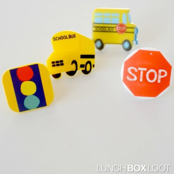 School Assortment of Cupcake Rings from lunchboxloot.com