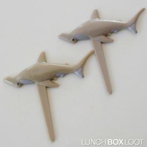 Shark Cupcake Picks from lunchboxloot.com