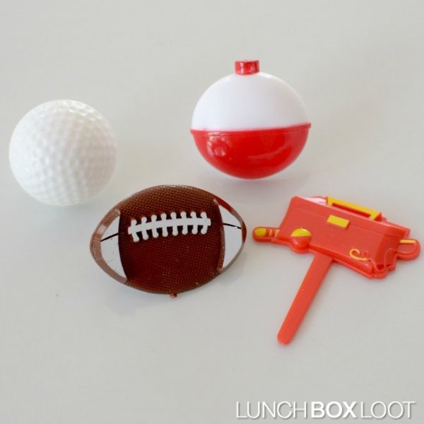 Assorted Sports Cupcake rings from lunchboxloot.com
